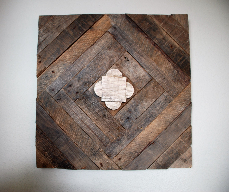 Reclaimed Pallet Wood Wall Art Wood Wall Art Abstract
