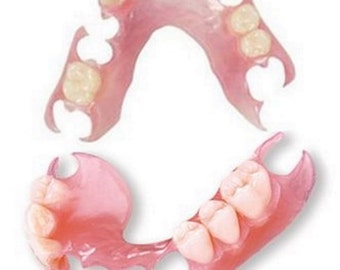 Both Upper and Lower Affordable Dentures Online | Custom-Made | FDA-Approved