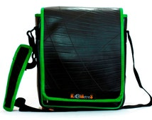 Tablet Tote - I Pad Bag - made of recycled inner tube