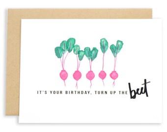 Birthday Beet Card