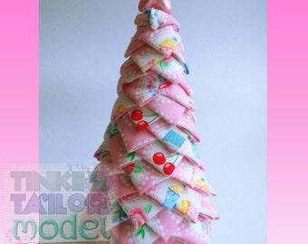 Fabric Tree 15cms