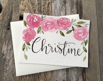 Cards for Bridesmaids, Bridal party Gift, pop the question, bridesmaid gift, Wedding day cards, 4x5.5 Handmade card