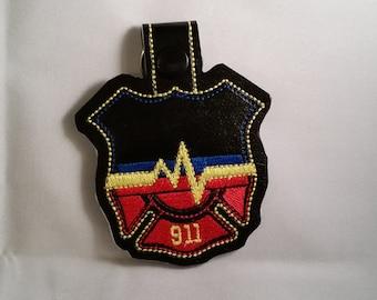 911 Dispatcher Key Chain
