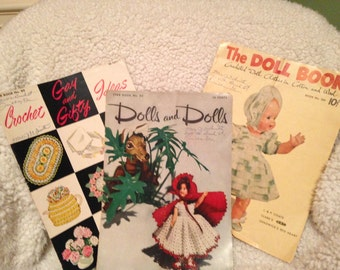 Vintage Crochet Pattern Books
