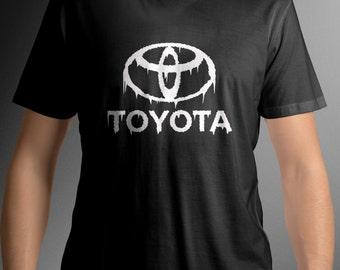 Toyota logo t-shirt Toyota tee C11