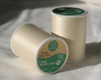 Coats & Clark Dual Duty Plus Hand Quilting Thread#116