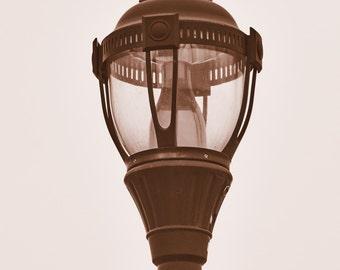 Copper Street Lamp