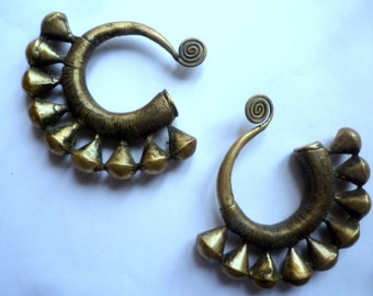 Sale sale sale!!!!! Was 100 now 70!!! Antique Chinese Hmong Miao Ethnic Earrings