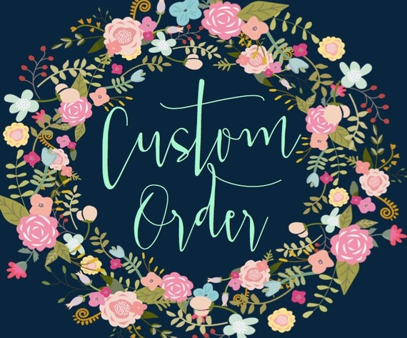 Custom /  1 TANK / GROUP / single order