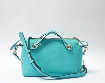 Leather clutch purse, leather handbag, leather bag women, leather bag purse, leather crossbody bag, leather shoulder bag, women leather bag