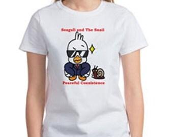 Women's T-shirt  (Peaceful Coexistence)