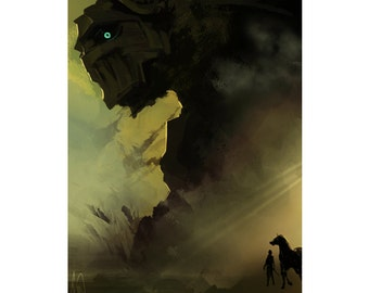 Shadow of the Colossus Print