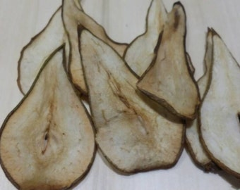 10 slices of dried pear. Baking floristry