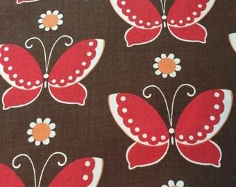 MODA, FREE BIRD, Butterflies, 100% Cotton