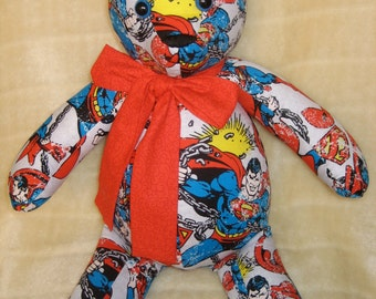 Superman Teddy Bear