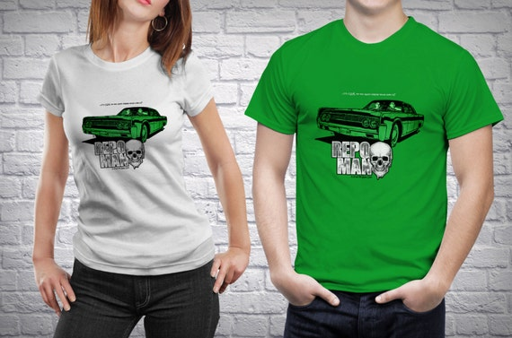 Repo Man Movie T-Shirt [Repo Man T-Shirt / Repo Man / Cult Classic]