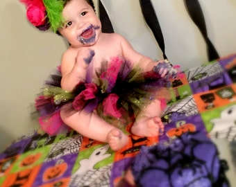 12 Month size Infant witch halloween costume