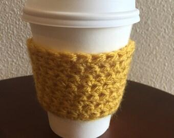 golden mustard cup sweater