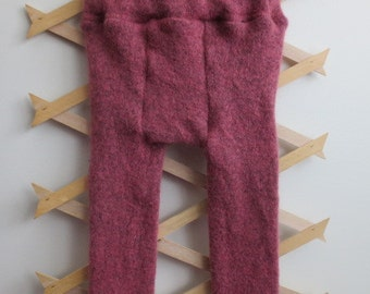 Supersoft Pink Upcycled Wool Longies
