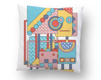 Doodle Pillow cover