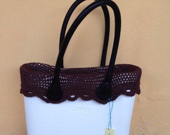 Border or edge obag bag women bag crochet bag mini
