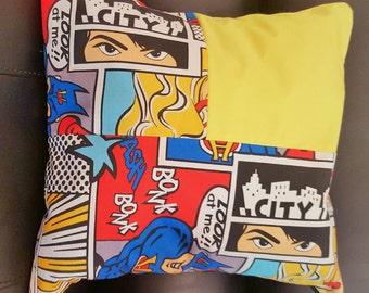 Comic Hero Cushion