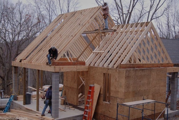 Plans how to build stick frame wood rafter by howtobuildplans - Build wood roof abcs roof framing ...