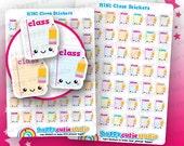 49 Cute MINI Class/University/School Planner Stickers, Filofax, Erin Condren, Happy Planner, Kawaii, Cute Sticker, UK