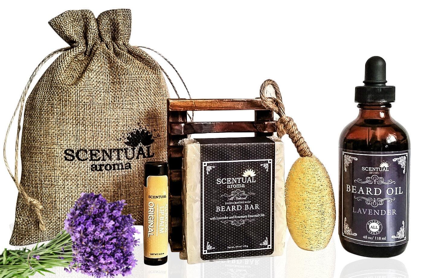 beard grooming gift set beard care set vegan beard care set. Black Bedroom Furniture Sets. Home Design Ideas