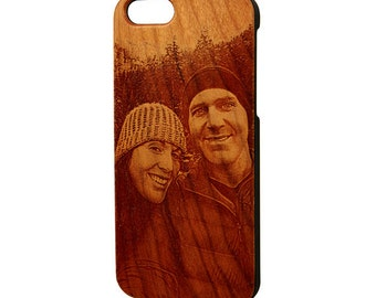 Engraved Photograph iphone 6s case, iphone 6 case, iphone 5s case, wood iphone case, Galaxy S6 case, Galaxy S5, iphone cases, Free Shipping