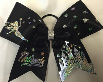 Tinkerbell Nationals or Worlds Cheer Bow