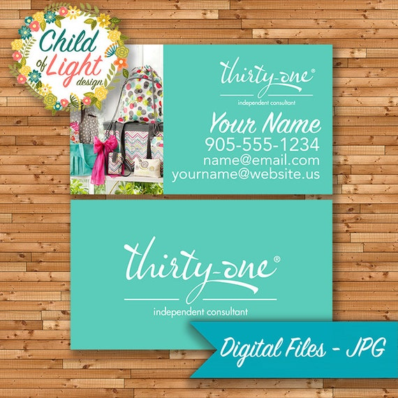 Thirty one business cards independent cards custom for Thirty one business cards vistaprint