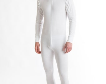 OCTAVE® Mens Thermal Underwear All In One Union Suit / Thermal Body Suit