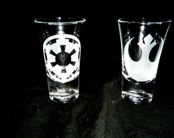 Star Wars Shot Glasses