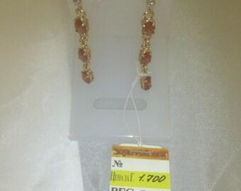 Golden earrings 14k Gold (585) 0,21 oz.