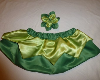 Tinkerbell Fairy Tutu Costume/Tinkerbell Skirt/ Tinkerbell Halloween costume/ Tinkerbell Tutu