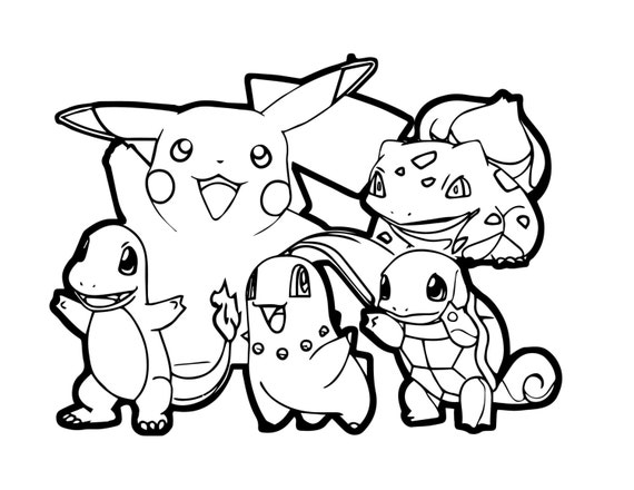 Pokemon Go printable coloring pages Pokemon Go coloring