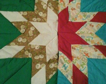 Baby star blankets