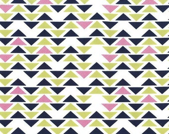 SALE Fabric - Michael Miller Fabric  - Technicolor by Emily Herrick - Pattern DC6114 Triplet - Cotton fabric by the yard  (last yard