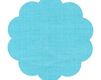 Sky blue fabric, solid sky blue fabric. Organic sewing fabric. Apparel/ quilt cotton fabric. DIY sewing cotton fabric. Baby cotton fabric