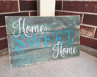 Home Sweet Home-Pallet Style Sign