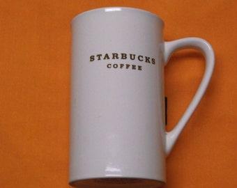 Starebucks Coffee Mug with No Decal on Side.  Ca 2003 Five inch tall