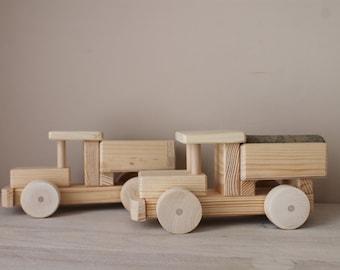 Wood truck /Eco toys /Montessori toy