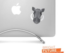 Flat Design Boar Head - Printed vinyl decal - Perfect for laptops, tablets, cars, trucks, SUVs and more!