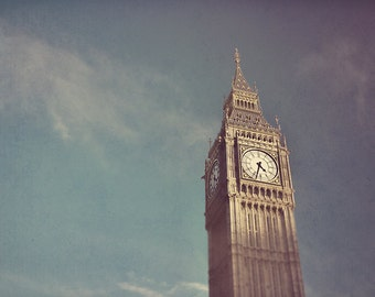 Big Ben Photograph - London Fine Art Photography - Big Ben Wall Art Print - London Home Decor - Big Ben Photography - Big Ben Print