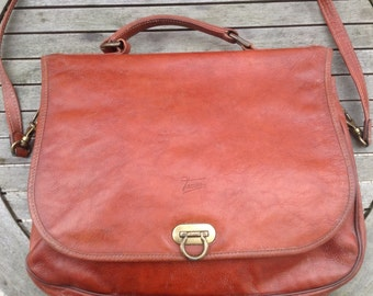 Large messenger bag vintage Texier