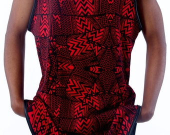 HBTM Tribal Dress Tank Top
