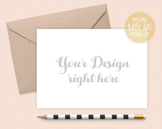 Cards Mockup, Styled Photography Mockup, Card and Envelope Mockup, 5x7 Invitation Mockup (A5x7.White)