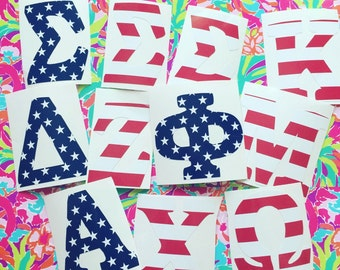Stars and Stripes/Flag Greek Letters