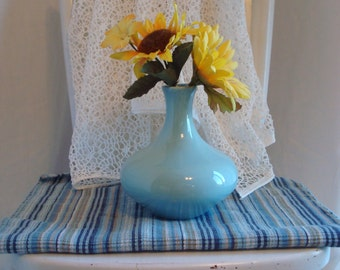 Royal Haeger Baby Blue Bud Vase